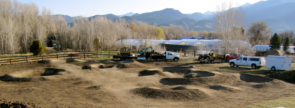 pump track construction