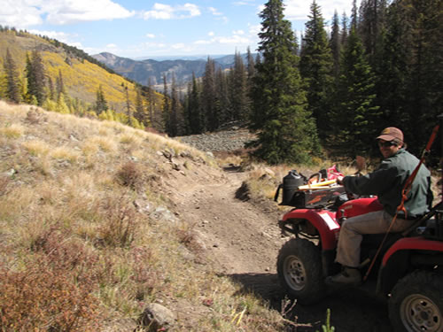 Creede Colorado OHV trails